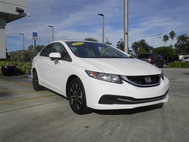 Pre Owned 2014 Honda Civic Ex Sedan In Vero Beach C18806a Vatland