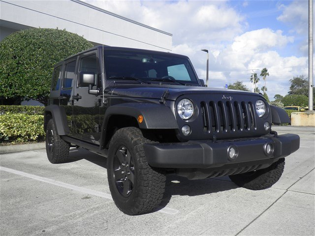 Certified Pre-Owned 2017 Jeep Wrangler Unlimited Big Bear