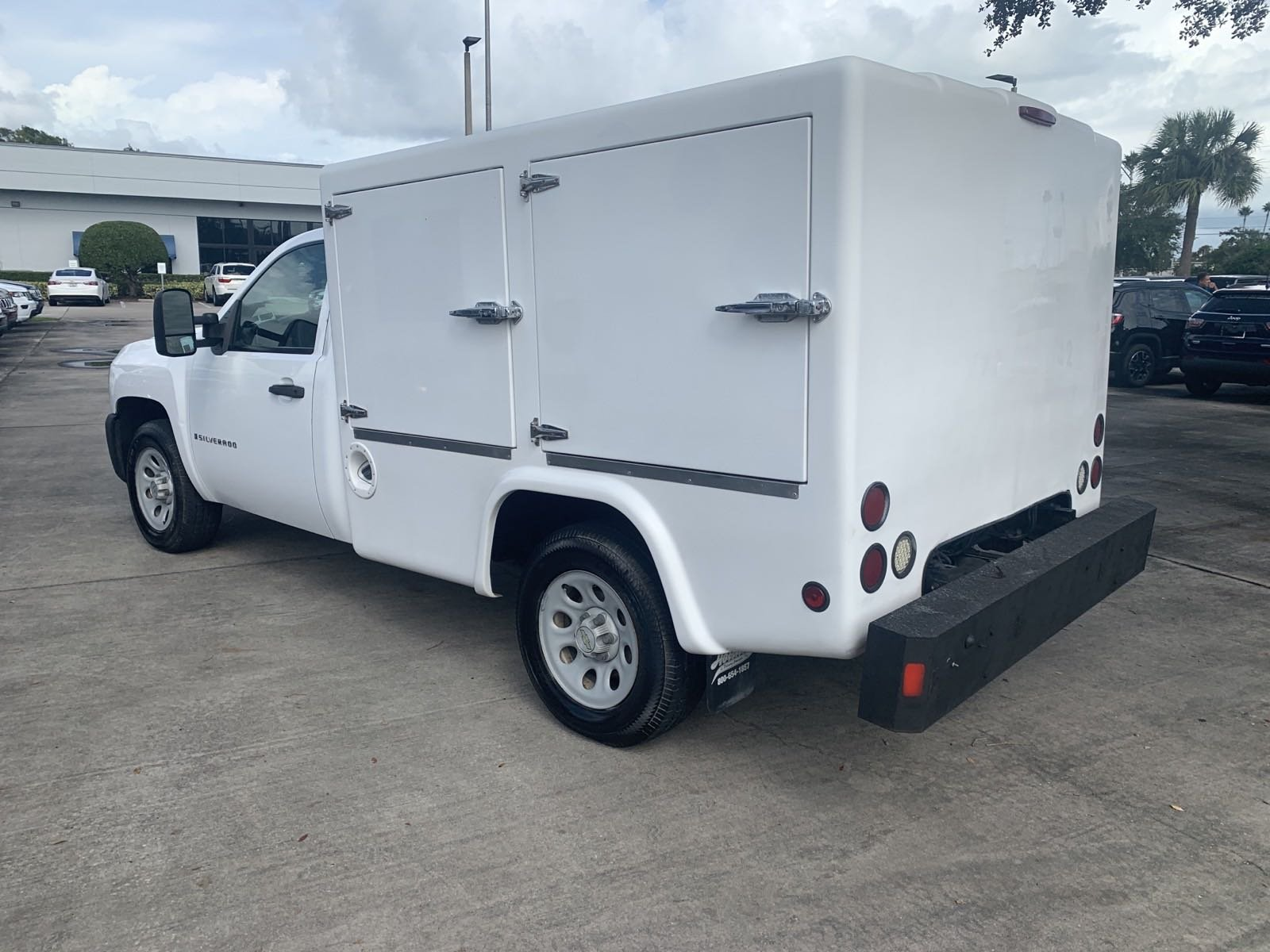 Pre-Owned 2008 Chevrolet Silverado 1500 HOT FOOD DELIVERY TRUCK