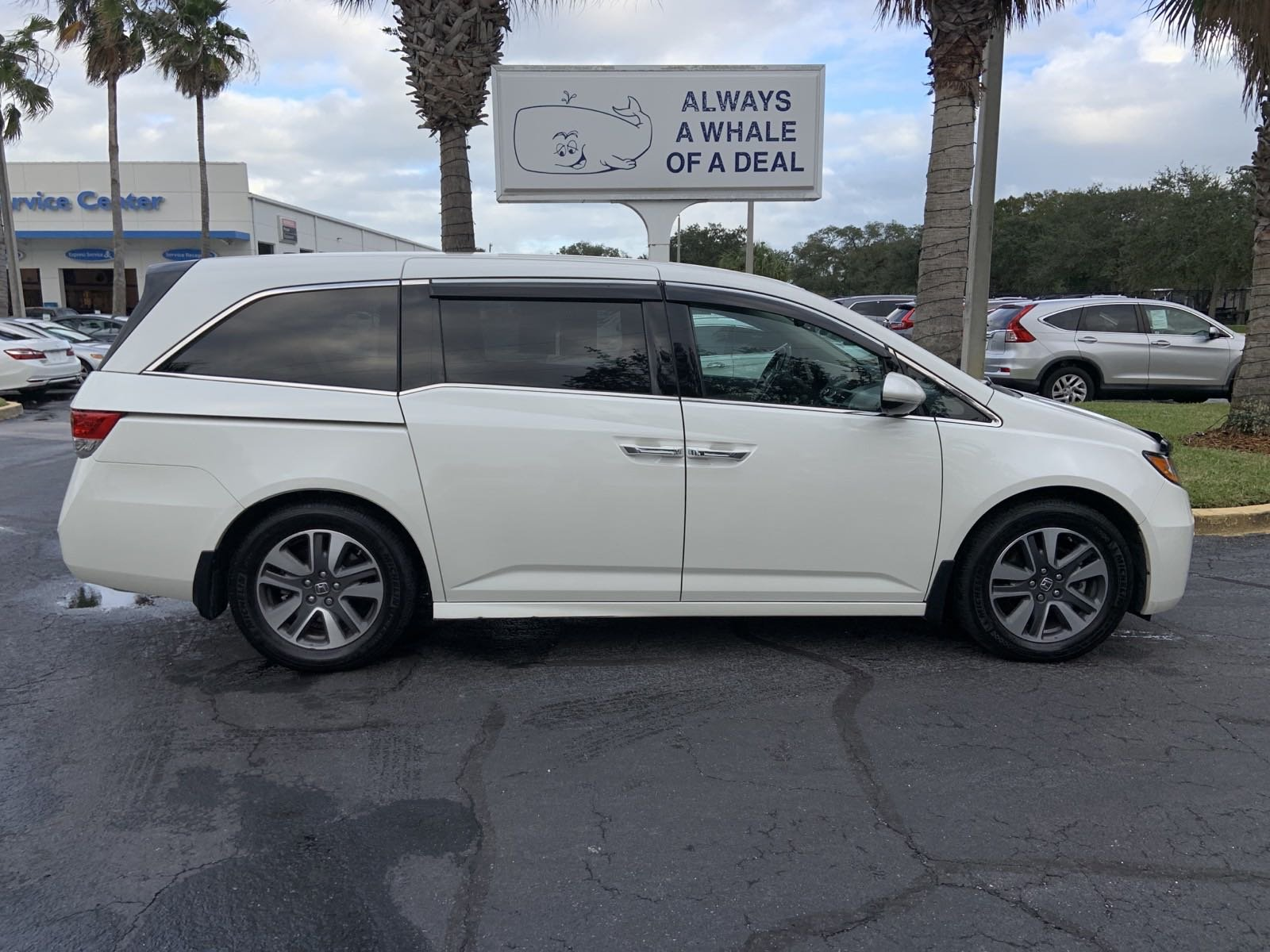 Pre-Owned 2015 Honda Odyssey Touring Elite