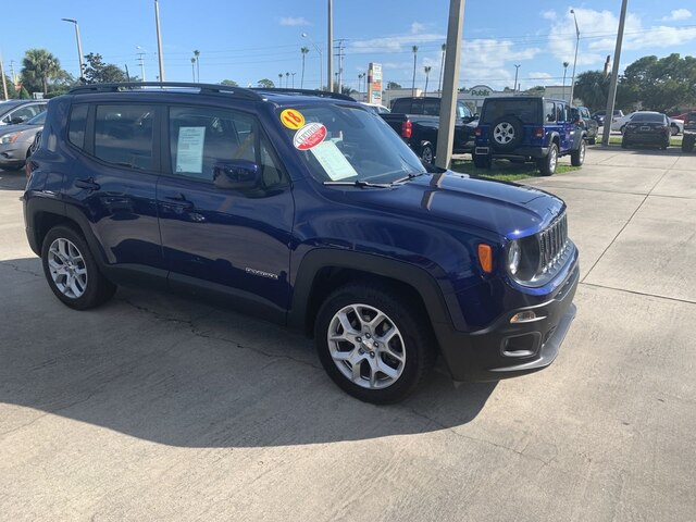 Certified Pre-Owned 2018 Jeep Renegade Latitude
