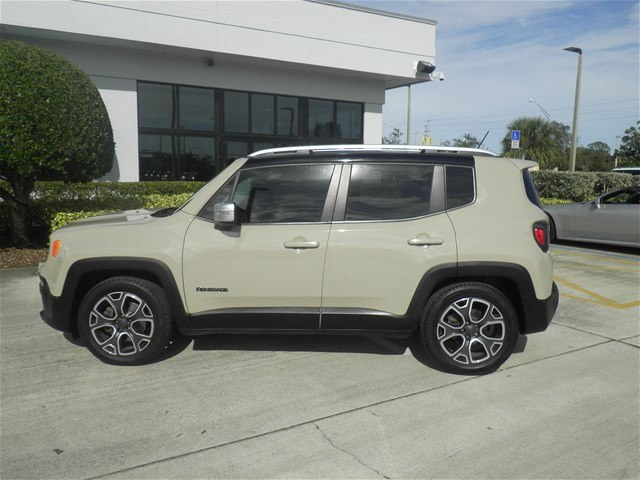Certified Pre-Owned 2015 Jeep Renegade Limited