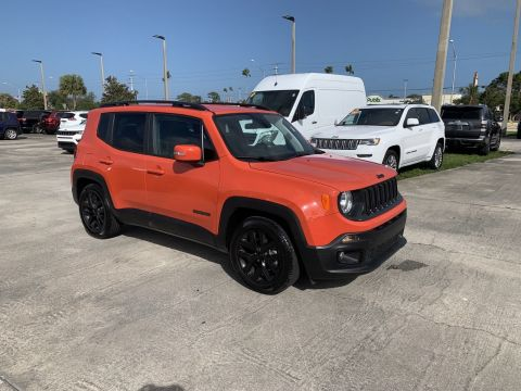 Certified Pre-Owned 2018 Jeep Renegade North